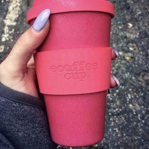Ecoffee šalica za kavu/čaj  – Pink'd