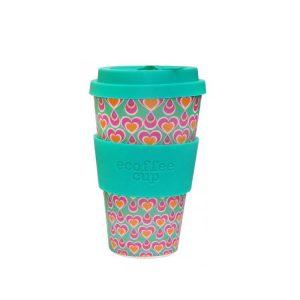 Ecoffee šalica za kavu/čaj  – Srca