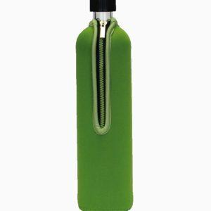 Dora's staklena boca zelena u neoprenskoj košuljici