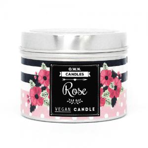 O.W.N. candles prirodna mirisna svijeća – Ruža