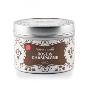O.W.N. candles prirodna mirisna svijeća – Ruža i šampanjac